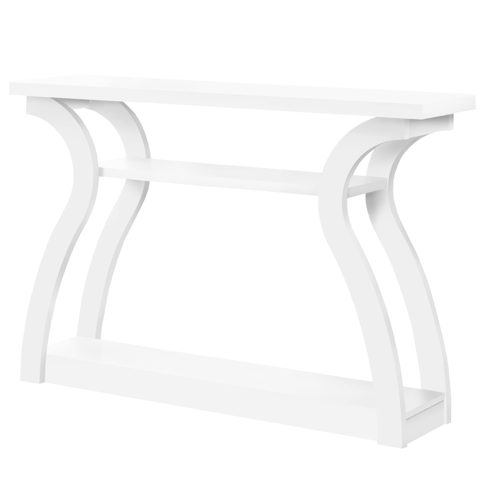 accent table white hall console free shipping today glass end with shelf farmhouse dining room furniture nightstand galvanized metal side navy blue sofa stools set high top round