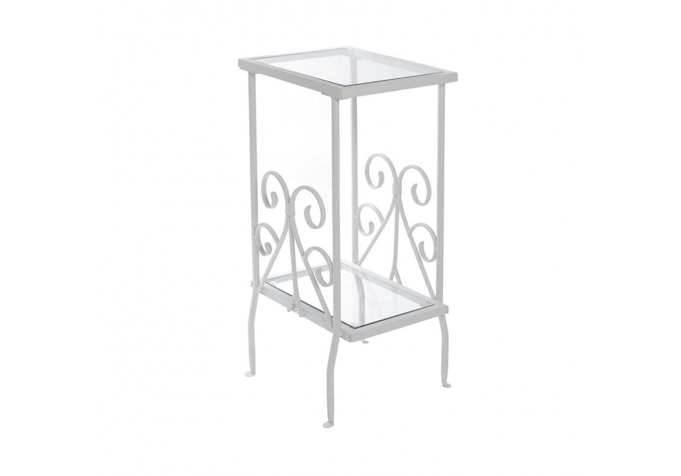 accent table white metal with tempered glass cast nate berkus round marble top coffee corner bench dining set usb electric drum skinny couch pendant lamp woven oversized reading