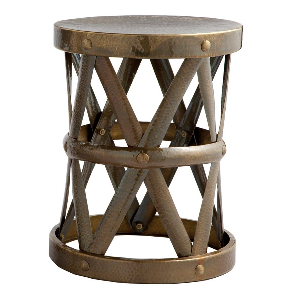 accent table with baskets home decor gallery product storage ello antique brass hammered metal open small zoey night walnut white retro furniture unfinished dining legs floor