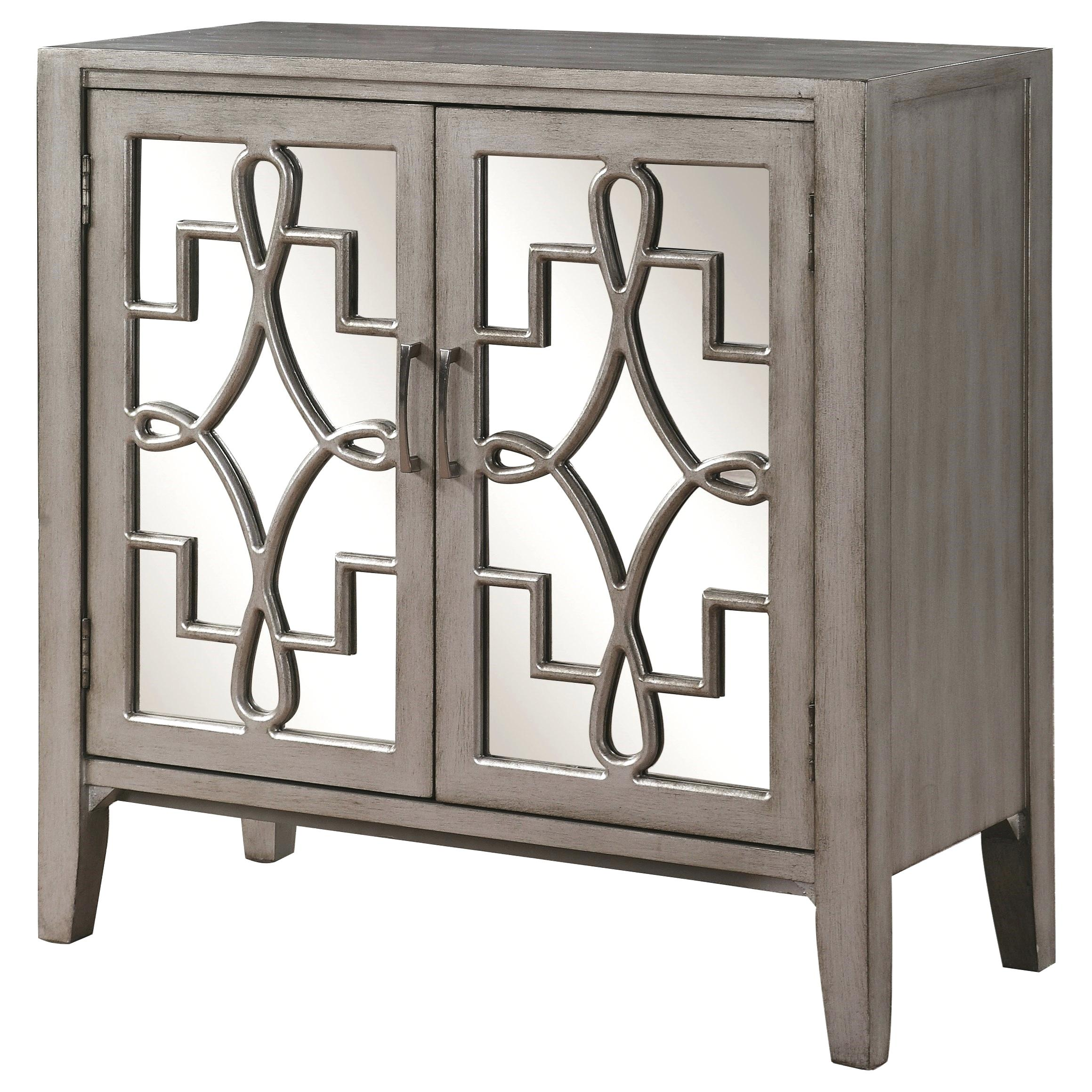 accent table with doors metal living cabinet mirrored accented lattice designs coaster fine furniture drawers pier candles chest coffee leick corner desk pedestal legs ikea