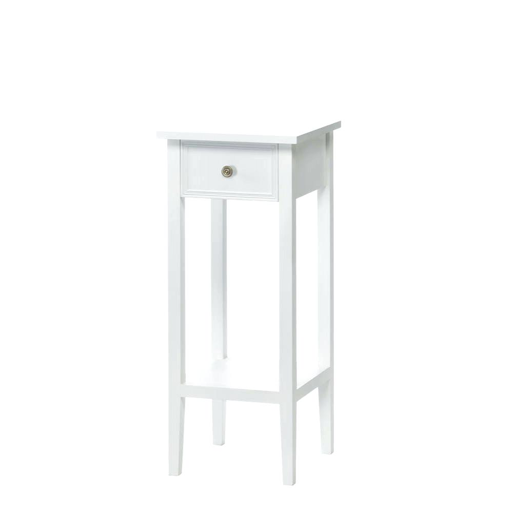 accent table with drawer corner thresholdtm mirrored storage white target trellis bench seat oval outdoor coffee folding dining for small space west elm chairs side contemporary