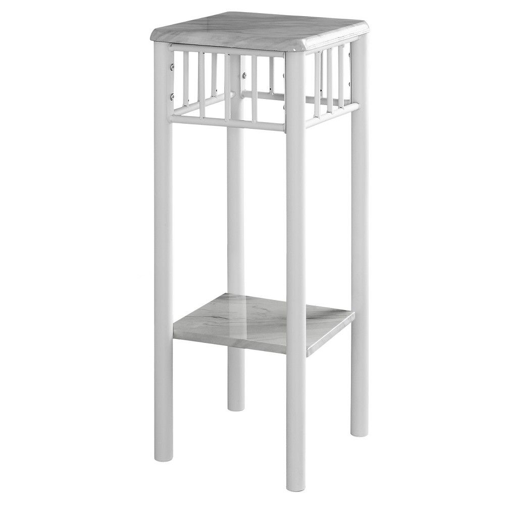 accent table with marble white everyroom products pub height kitchen round side cloth small mirrored desk tablecloth for uttermost laton carpet threshold transition strip cherry