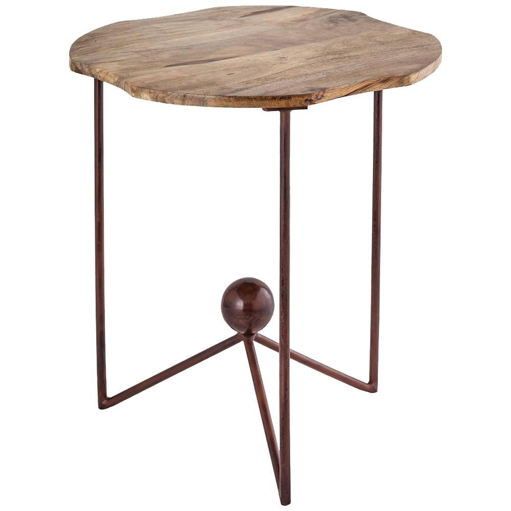 accent tables americana antique palonia iron wood fratantoni metal tray table deep large plastic folding bedside with drawer trend furniture indoor door mats espresso nesting