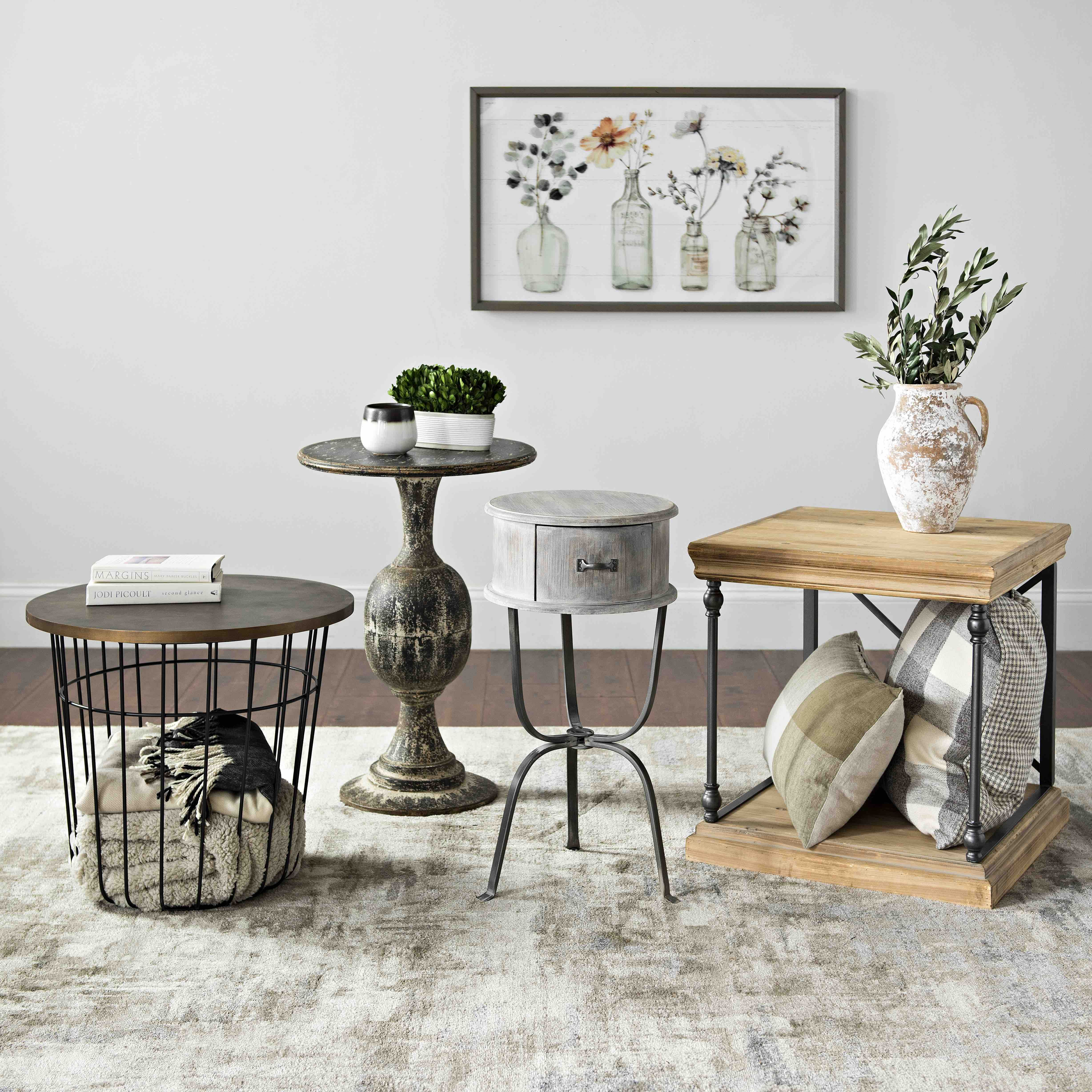 accent tables are super versatile and functional decor piece farmhouse style table rules mirrored rectangular coffee next counter set lamps inexpensive modern metal glass mini