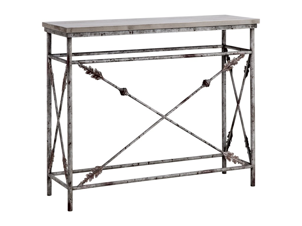 accent tables arrowdale metal and wood console table morris home products stein world color threshold tablesarrowdale wrights furniture cantilever umbrella base ashley upholstered