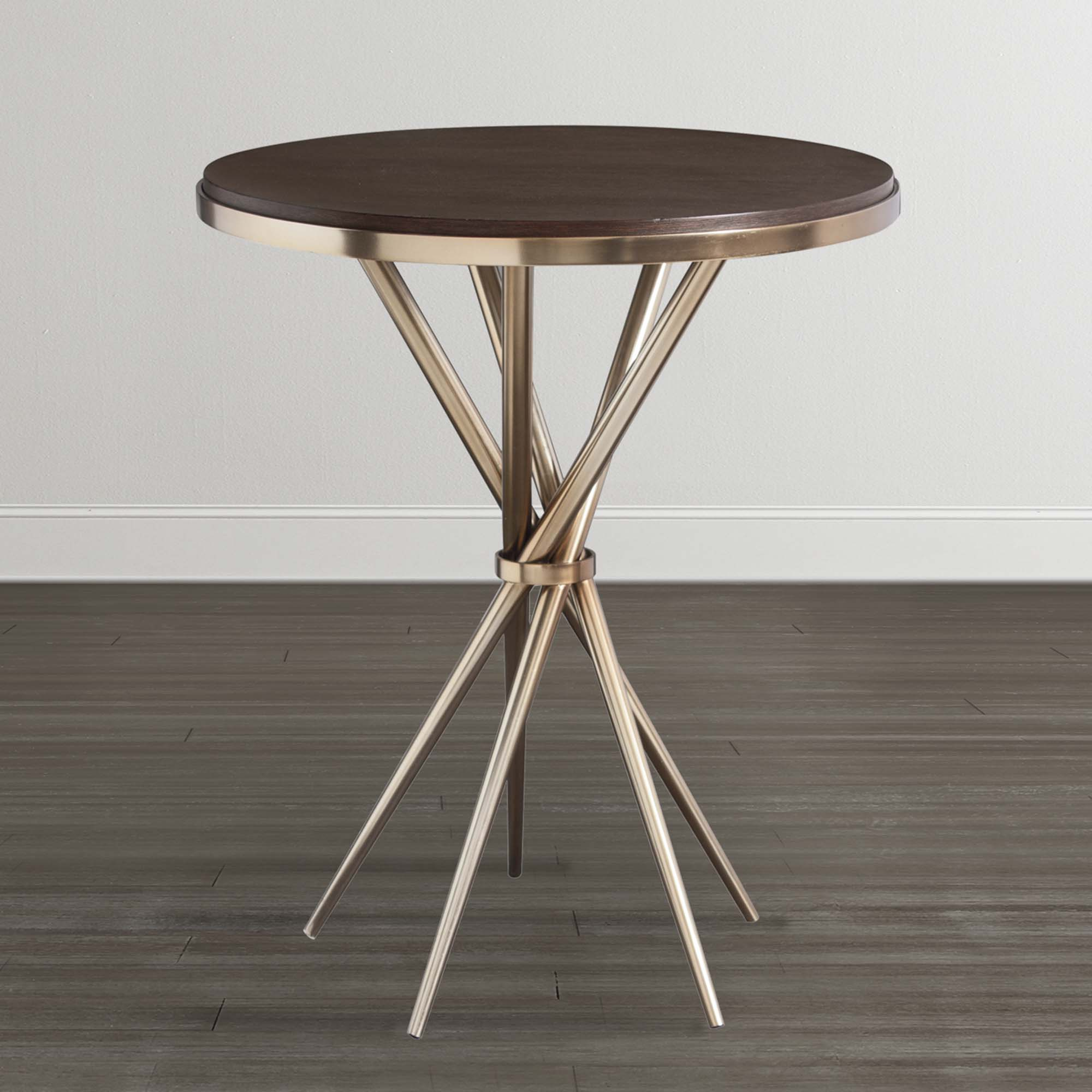 accent tables bassett furniture high round table hampton bay pembrey turned leg coffee aquarian drum heads yellow placemats outdoor patio seating home goods kitchen cabinets grill