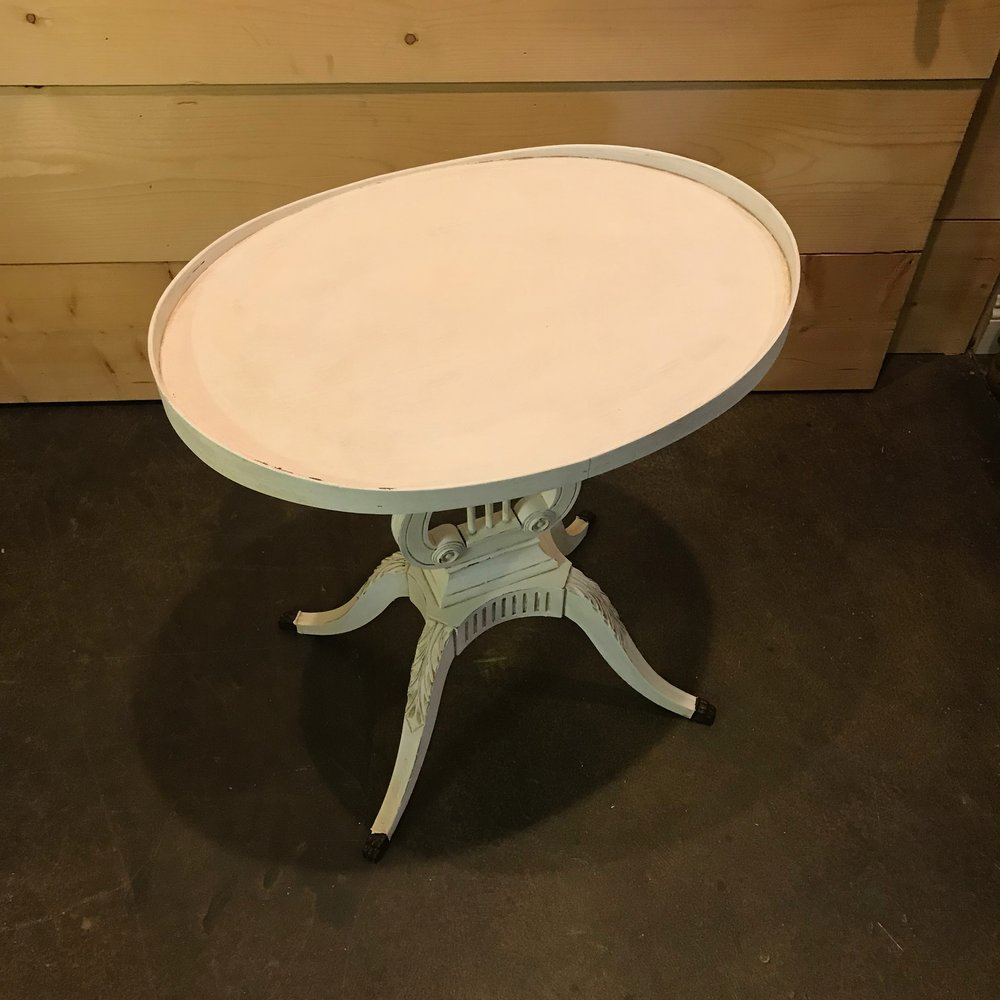 accent tables birdie barn vintage event rentals murrieta harp table distressed white painted chalk paint and antiqued plant stand agate coffee nightstands elegant dining room