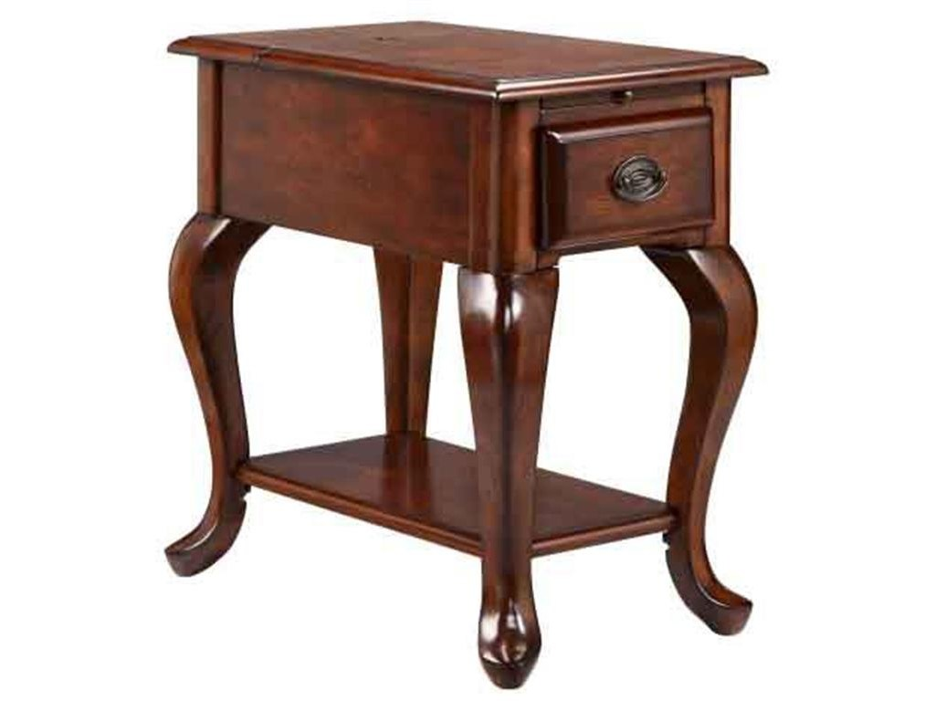 accent tables drawer chairside table rich cordovan finish products stein world color and cabinets morris home tableschairside making rustic coffee pottery barn square yellow
