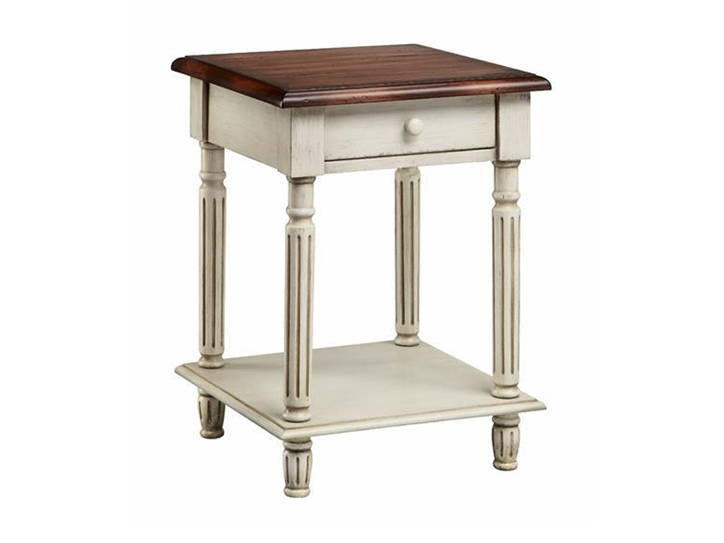 accent tables drawer wood top end table white truffle morris products stein world color threshold metal with home tablesend red coffee set pool umbrella stand uttermost round