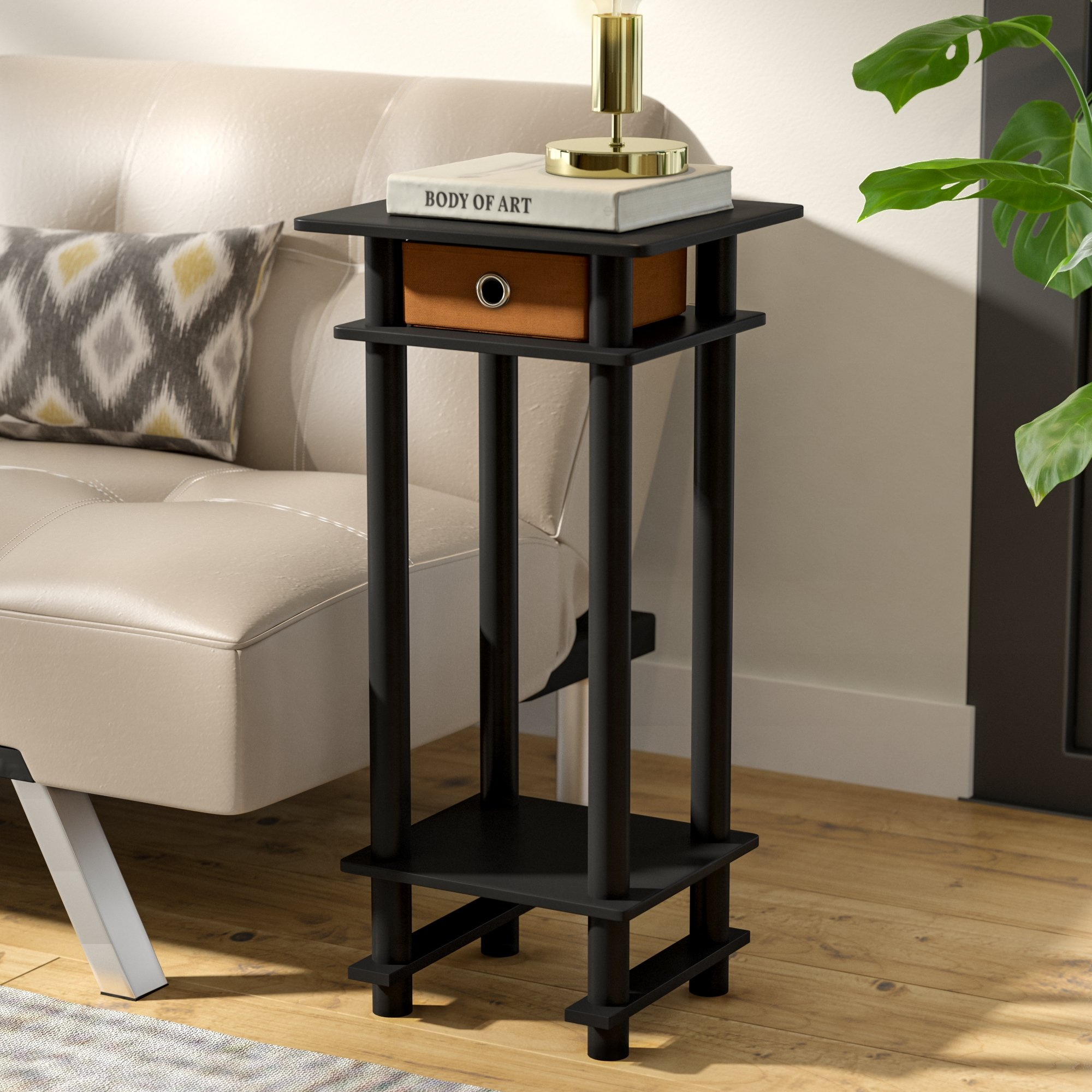 accent tables for small spaces chrisley end table with bin ifrane quickview argos side carpet room divider strip hampton bay outdoor furniture nautical light fixtures indoor