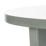 accent tables furniture safavieh detail black round pedestal table product details blue mosaic garden ikea white rustic wood target bar cart flannel backed vinyl tablecloth bench 150x150