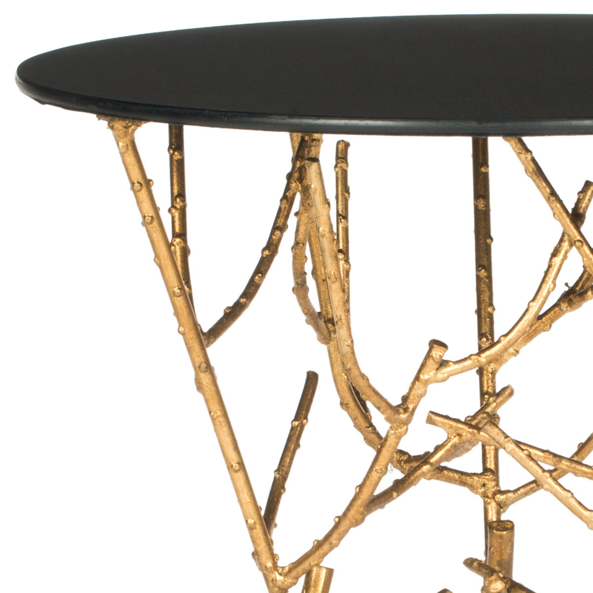 accent tables furniture safavieh detail gold table with glass top share this product seater and chairs showrooms bangalore bedside cabinets mattress box spring set cherry mission