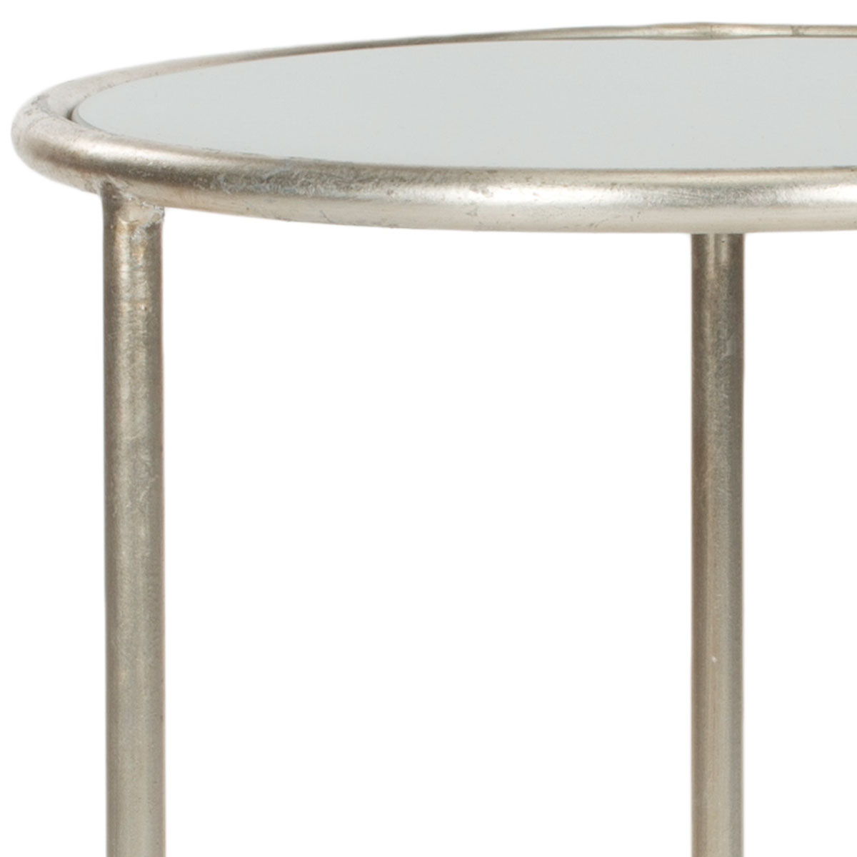 accent tables furniture safavieh detail mirrored glass table with drawer shay top silver design high wine rack patio nic country cottage coffee unusual side ashley bedding square