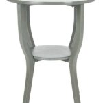 accent tables furniture safavieh front black round pedestal table share this product lamp sets fabric placemats ikea white large chair dining with wicker chairs outdoor and cover 150x150