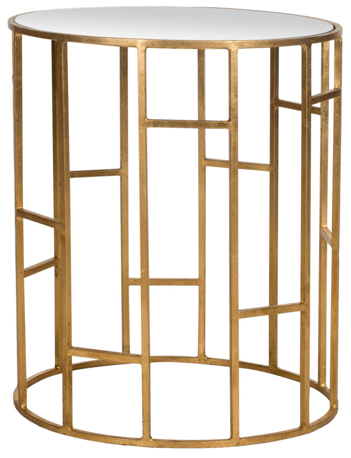 accent tables furniture safavieh front gold table share this product big lots mirrored bedside lockers shaped office desk metal chairside paint storage cabinet target rose solid