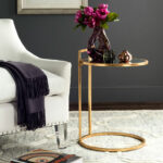 accent tables furniture safavieh room antique round table calvin gold leaf end design target patio dining home decorators catalog lawn chair cushions white with storage wine rack 150x150