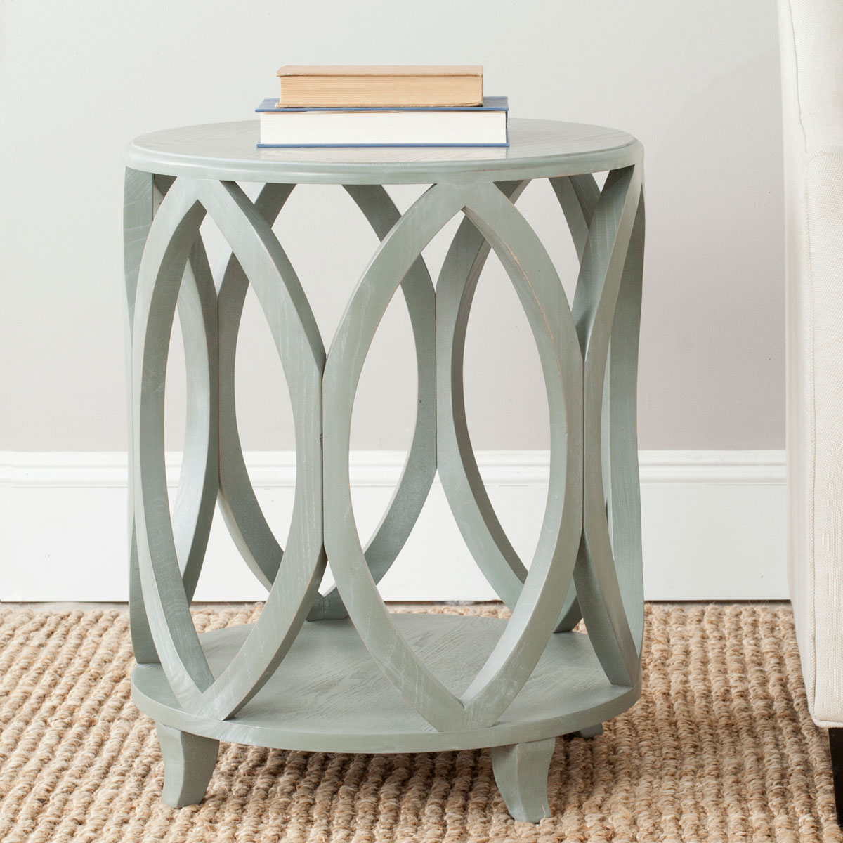 accent tables furniture safavieh room gray round table janika design small occasional side outdoor top covers pottery barn kids living decorating ideas bedroom curtains ikea