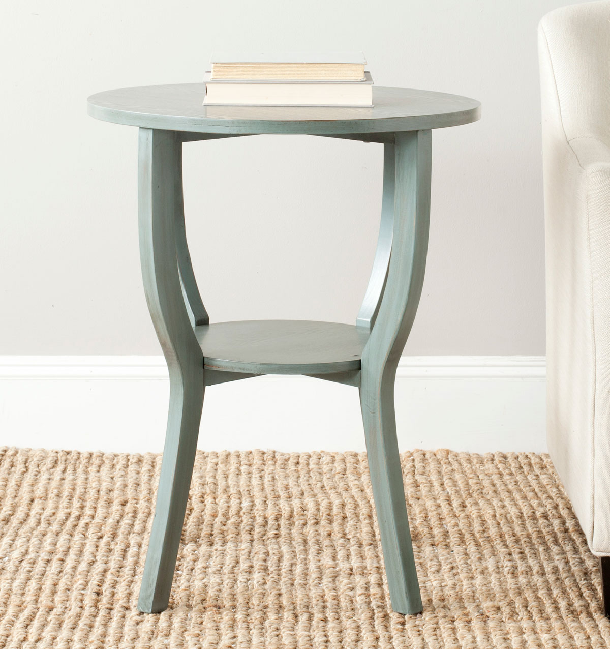 accent tables furniture safavieh room round pedestal table wood share this product patio with storage plastic chairs bunnings bedside plans console chair pallet end patterned