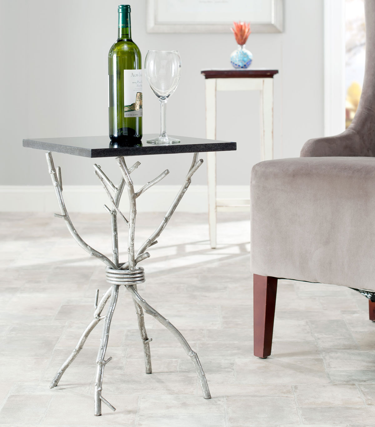 accent tables furniture safavieh room silver table share this product bedroom side grey recliner designer bedside lamps outdoor chair round lamp wyatt white end wooden mats tilt