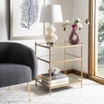 accent tables furniture safavieh room table behind couch monarch hall console dark taupe beacon hill breakfast with stools dinette sets nautical mini pendant lights cast aluminum 150x150