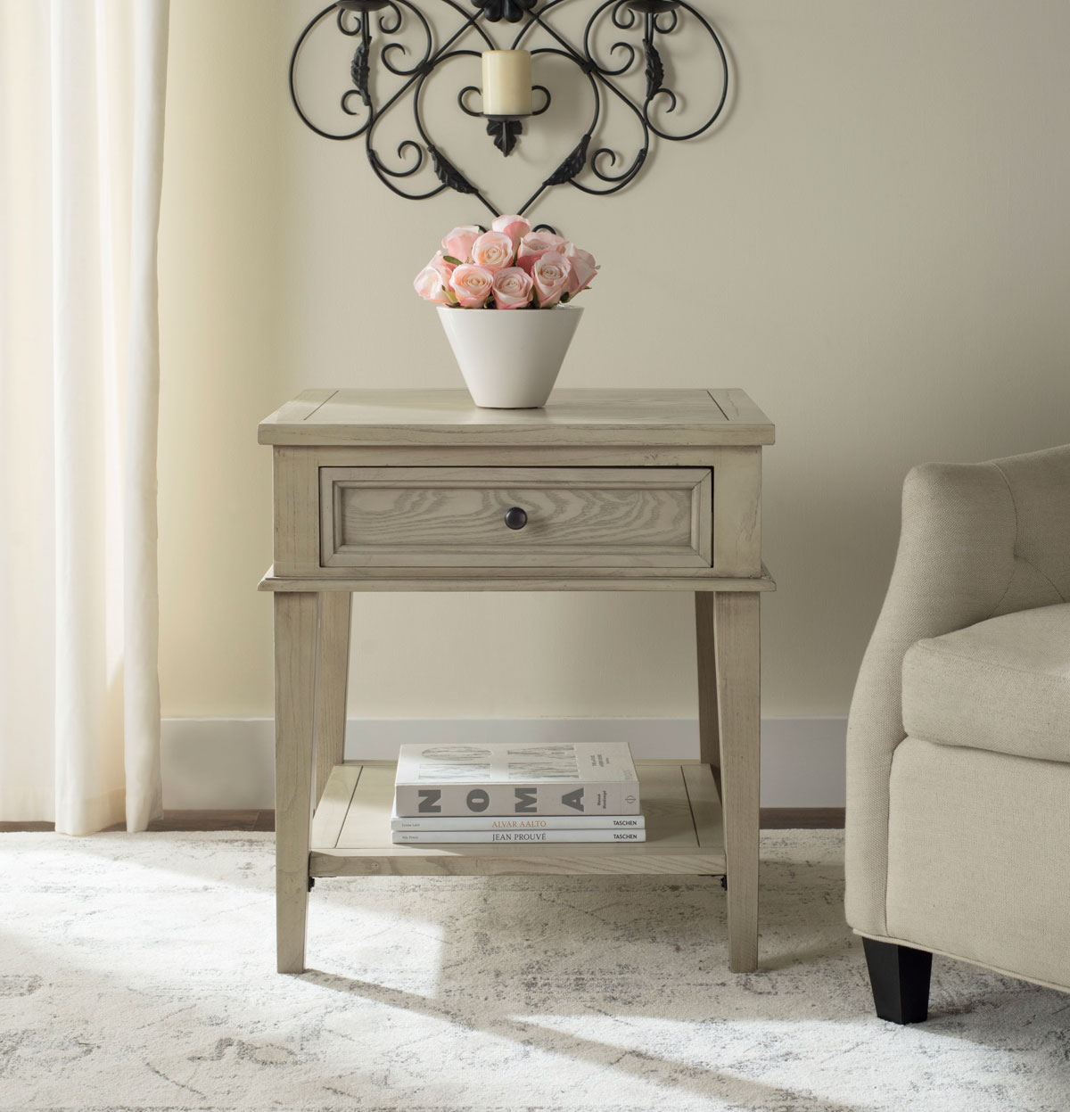 accent tables furniture safavieh room whitewash table share this product oriental lamps west elm dining chairs space saver chinese style lamp shades pier one pillows clearance