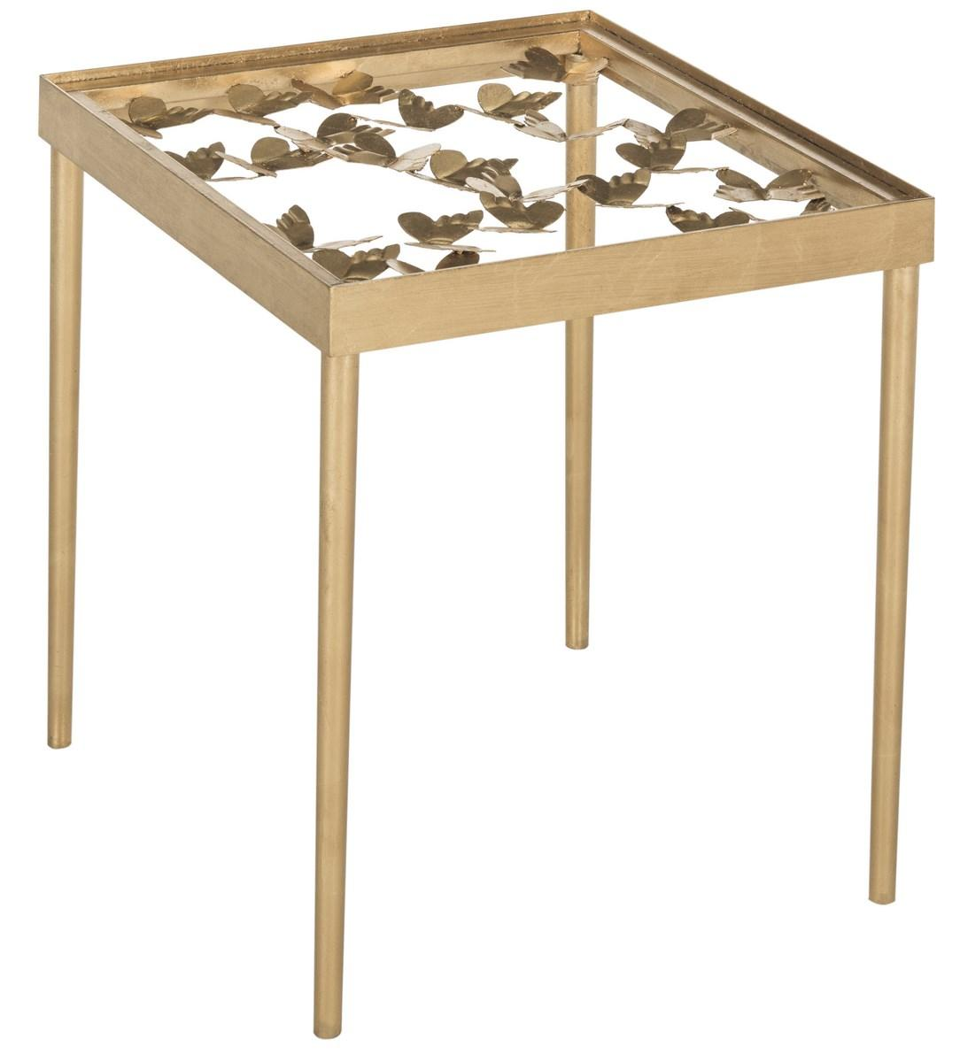 accent tables furniture safavieh side gold table share this product metal carpet threshold decorative mirrors glass chrome top entry solid pine bedroom sofa with baskets target