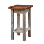 accent tables fwend table barnwood end mirrored cocktail antique writing desk furniture spiralizer target white and gold nightstand uttermost henzler glass side rustic diy dale 150x150