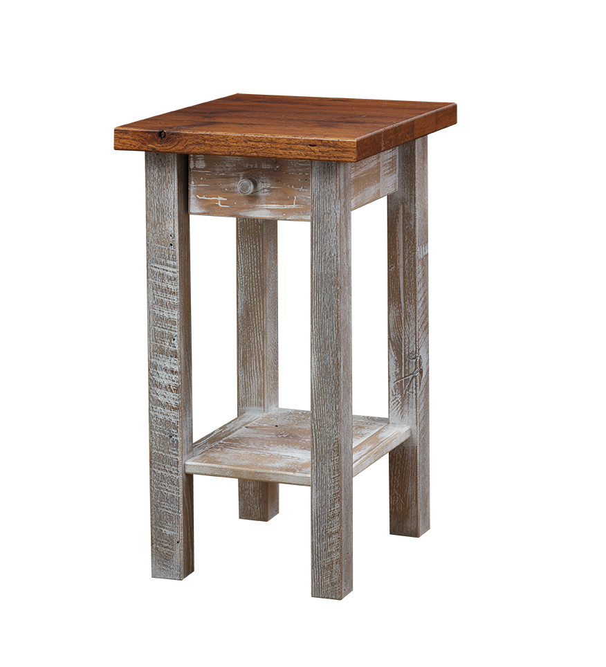 accent tables fwend table barnwood end mirrored cocktail antique writing desk furniture spiralizer target white and gold nightstand uttermost henzler glass side rustic diy dale