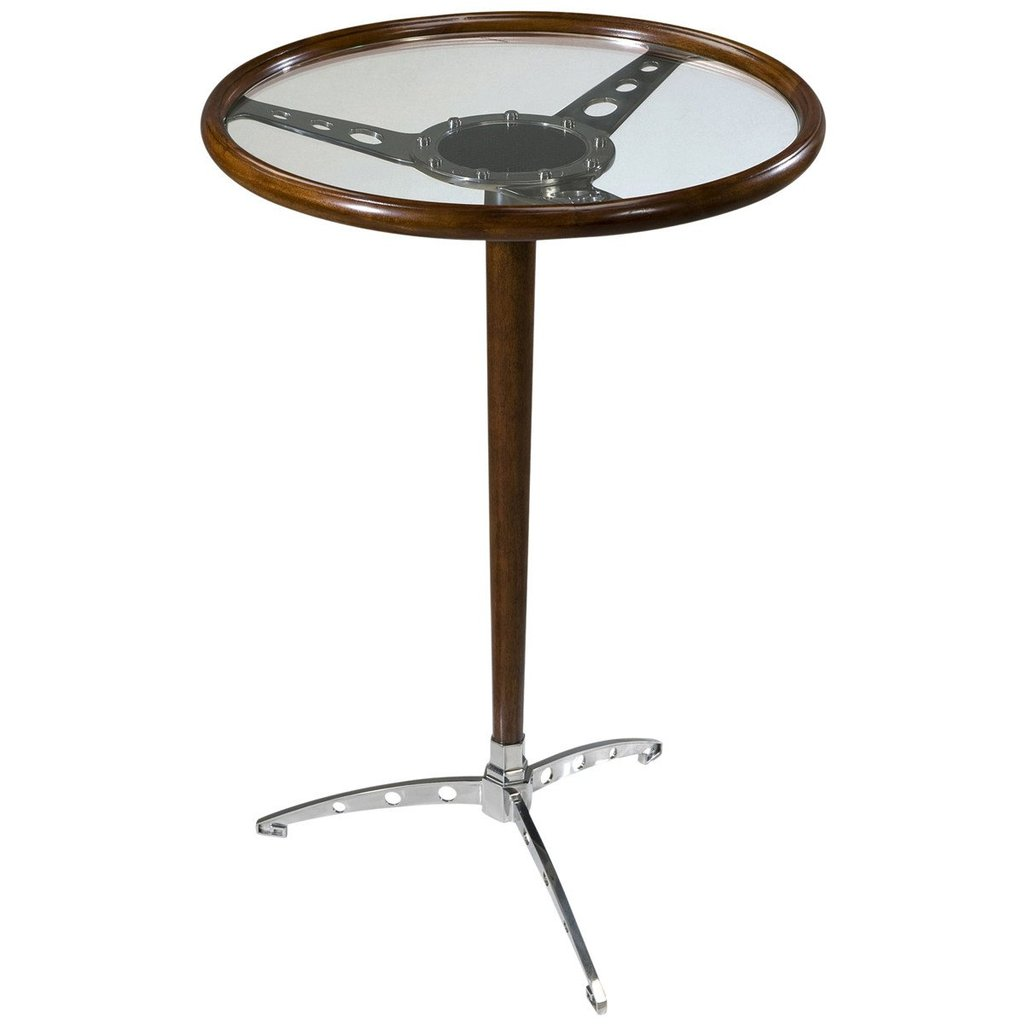 accent tables glass keno bros modern theodore alexander pedestal table benjamin rugs furniture blues clues notebook percussion box seat patio painted side living room distressed