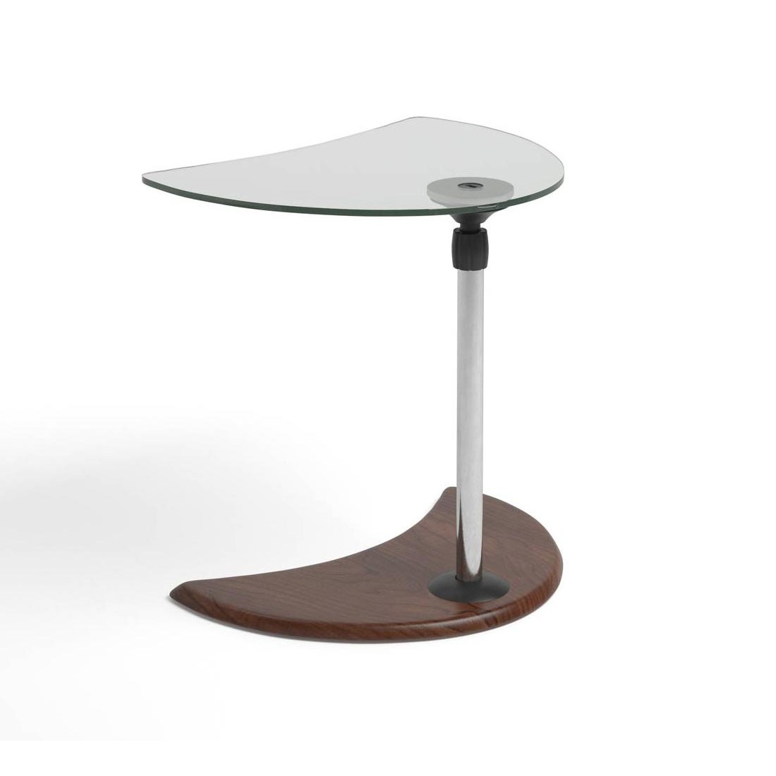 accent tables living furniture danco modern just strl alpha table chrome glass brown cherry corner stressless innovative coffee fabric placemats and napkins tiffany lighting