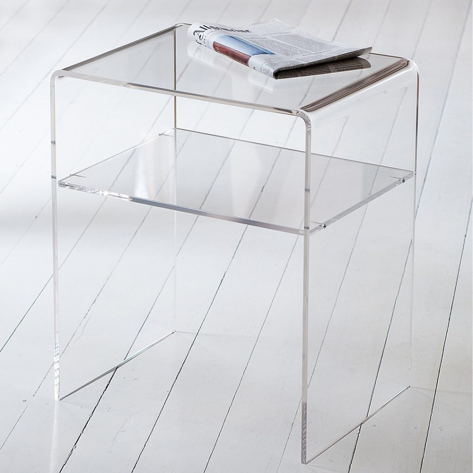 accent tables long table plastic end acrylic side plexiglass lucite cocktail stacking black coffee umbrella small round large size incredible square decor ashley home furniture