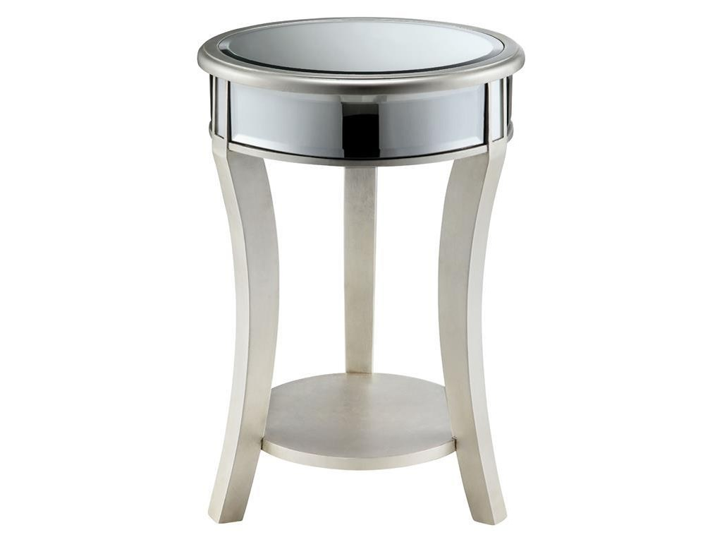 accent tables mirrored round table morris home end products stein world color dining clothes unfinished console with drawer keter ice antique lamps swag lamp rose gold narrow
