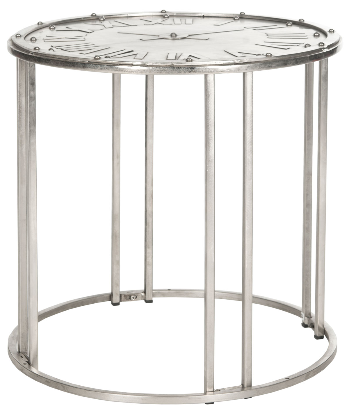accent tables nightstands furniture safavieh end table with clock rustic wood coffee and sofa cabinet woodworking projects that sell victorian marble top round butcher block white