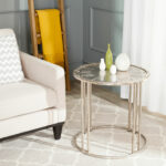 accent tables nightstands furniture safavieh room end table with clock stainless fridge large round lace tablecloths victorian coffee marble top inch tablecloth sofa dog crate diy 150x150