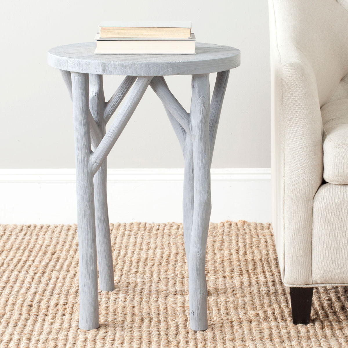accent tables nightstands furniture safavieh room harper round wood and metal table share this product lucite farnichar wedding tablecloths quilted runners placemats patterns