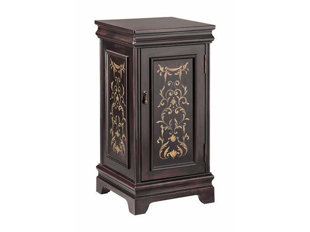 accent tables pedastal with door storage morris home end products stein world color table drawers and doors bath beyond baby registry pub garden furniture designer sofa company