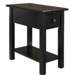 accent tables plowhearth small drop leaf table benton side with charging station craftsman lamp rollaway ikea distressed black ethan allen office furniture round coffee decor cast 150x150