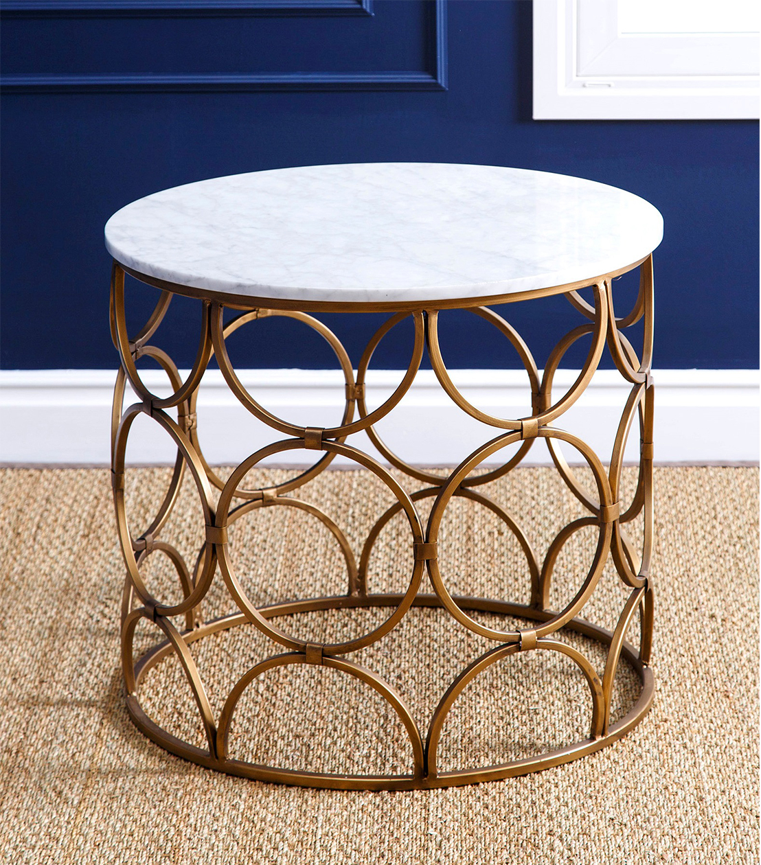 accent tables roland faux marble coffee table home goods lamps wicker furniture set clearance mahogany nest garden storage solutions battery run small wood side bengal manor mango