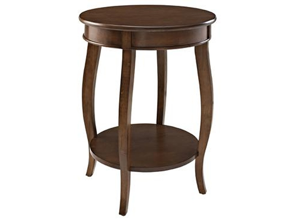 accent tables round table shelf ruby gordon home end products powell color with tablesround metal pin legs repurposed doors corner chest pier mirrored furniture three drawer side