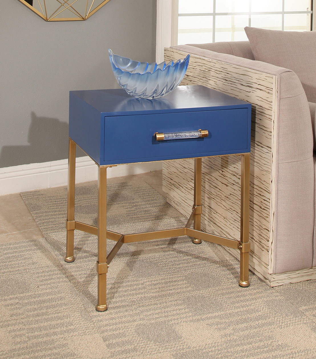 accent tables sophie gold iron end table blue blu metal mini lamp coffee and side computer target clear acrylic plexiglass kitchen dining room small with drawers antique ese lamps