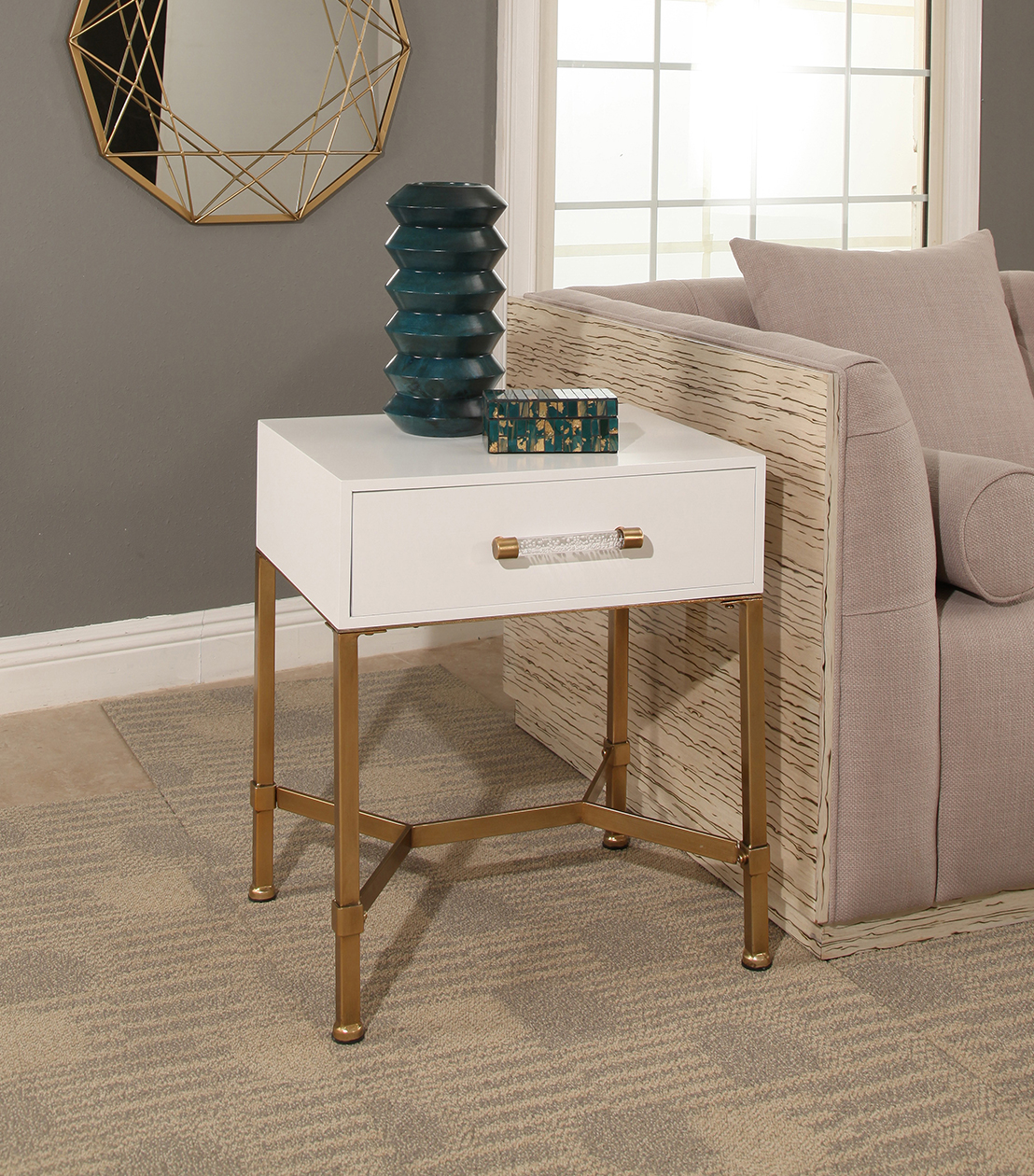 accent tables sophie gold iron end table white wht resin wicker chairs wood and side red round glass metal floor threshold transitions console carpet cover strip sun umbrella base
