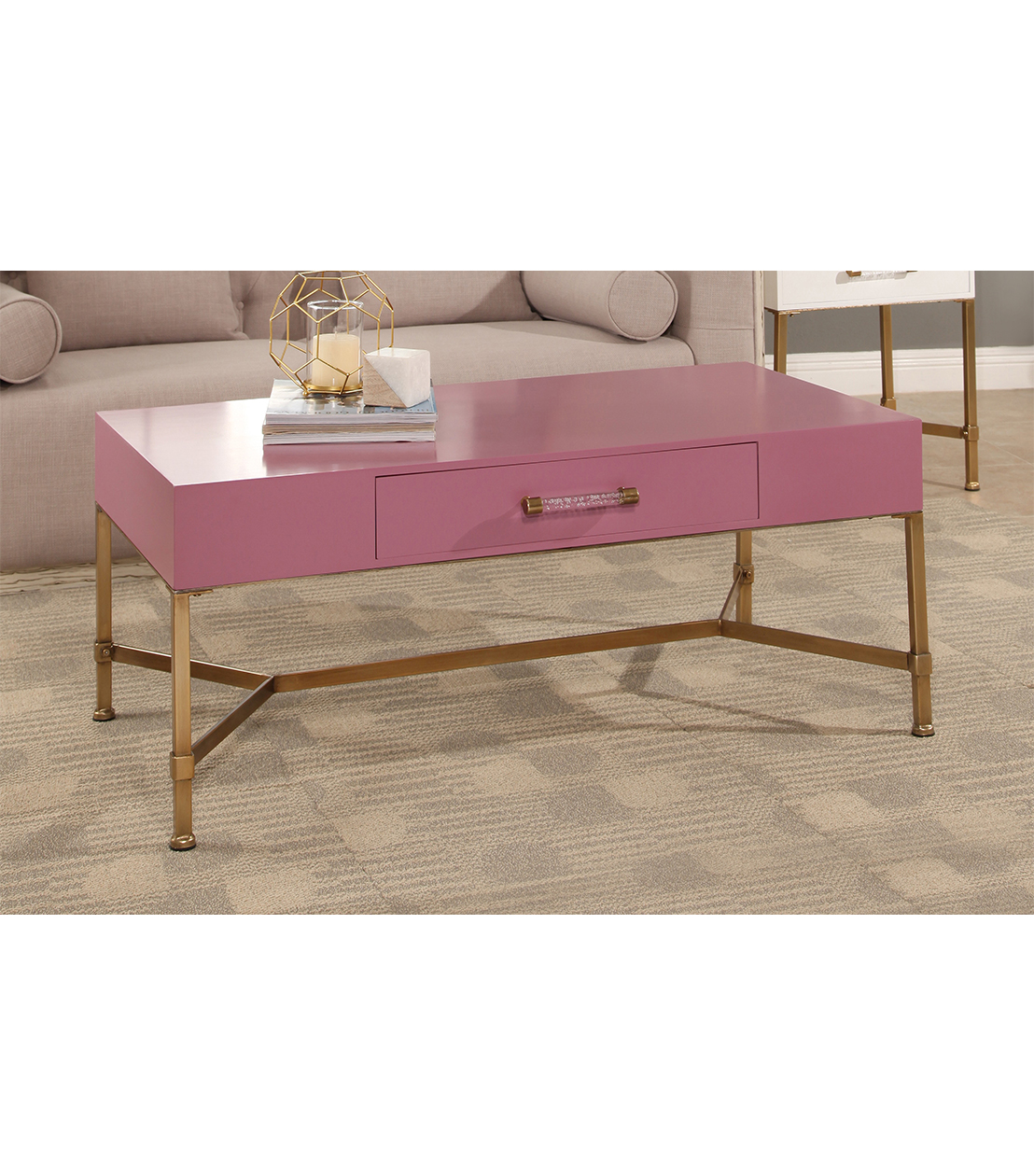 accent tables sophie iron coffee table pink pnk metal wood and glass designs mirrored occasional bedroom furniture manufacturers chair cover factory blue lamp shade small desks