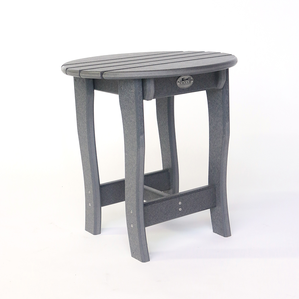 accent tables the amish craftsmen guild charm table metal folding home goods outdoor furniture tall bar set beer cooler coffee cushions black glass end coastal inspired lighting