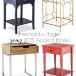 accent tables threshold for target spring the enchanting life navy blue table diy wood top leick recliner wedge end farmhouse coffee plans round black frosted glass mini side 150x150