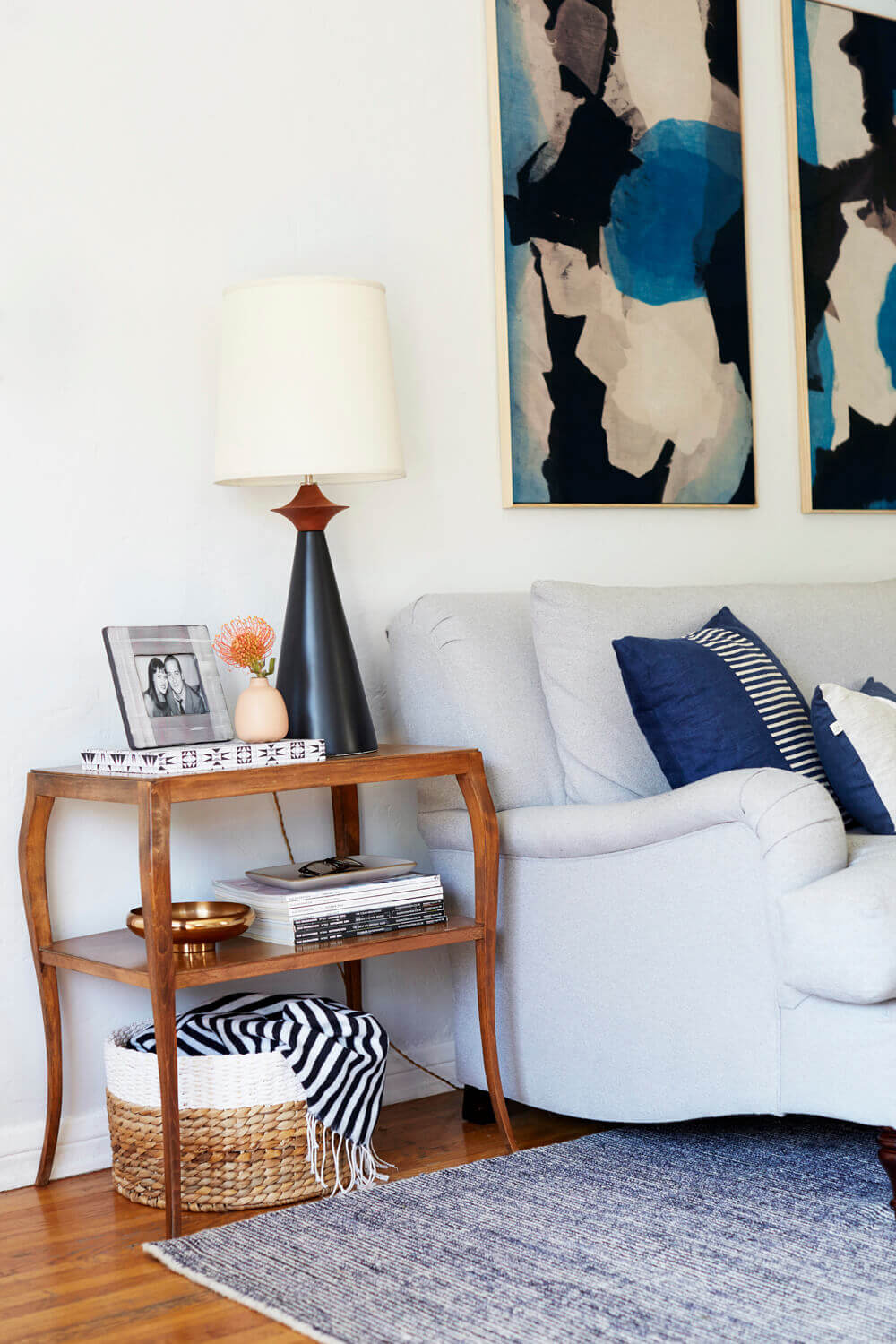 accent tables under emily henderson styling bedside table small living room snack ikea ceramic outdoor cordless lamps pottery barn easy diy coffee adjustable floor lamp garage