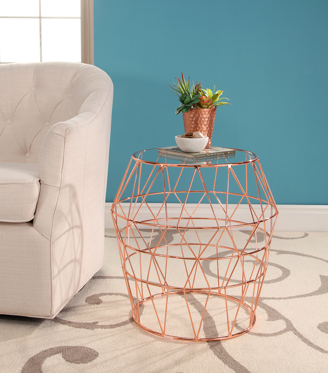 accent tables violet end table rose gold vintage style side outdoor furniture retailers unusual bedside brass nest coffee legs reclaimed wood entry chairs with marble ikea