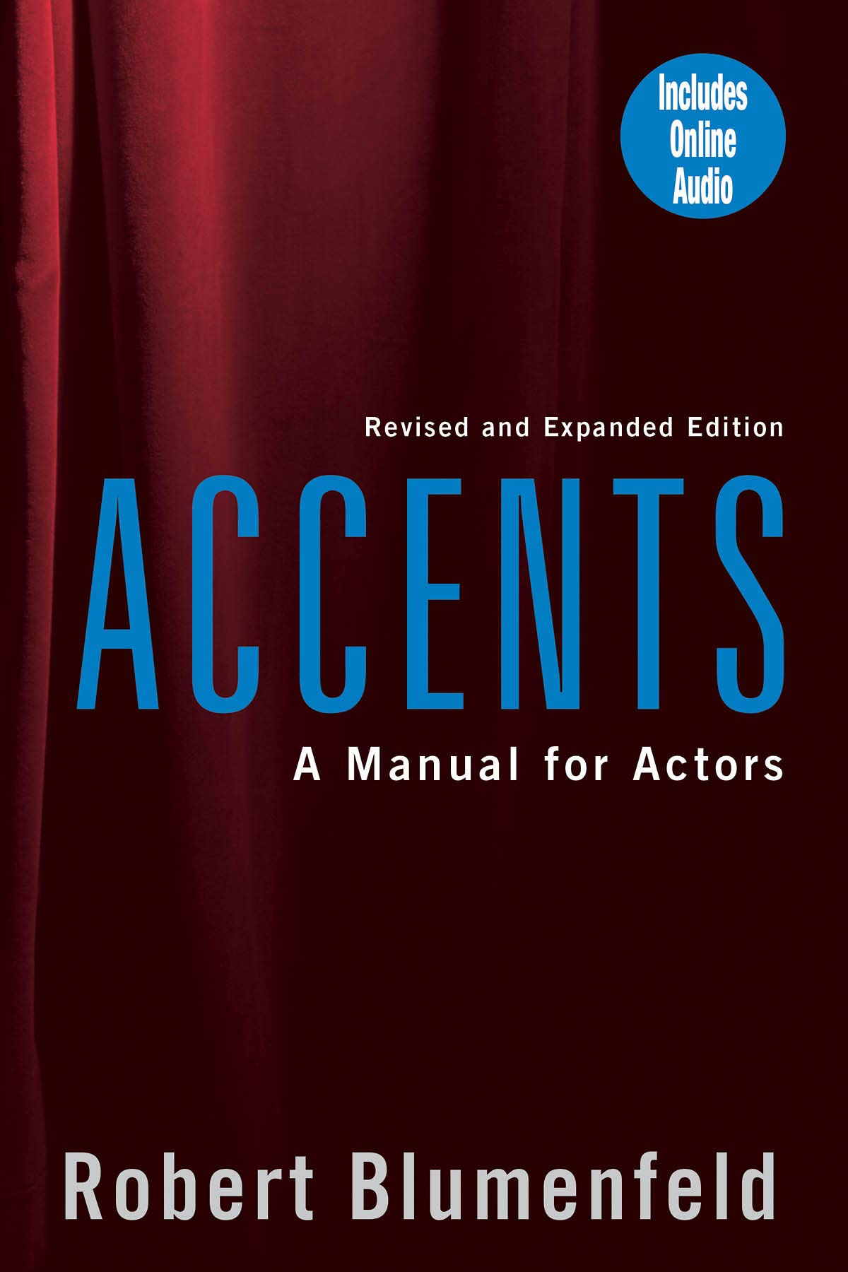 accents manual for actors revised and expanded edition robert triller accent table target follow the author small trestle kitchen long narrow behind couch inch round outdoor