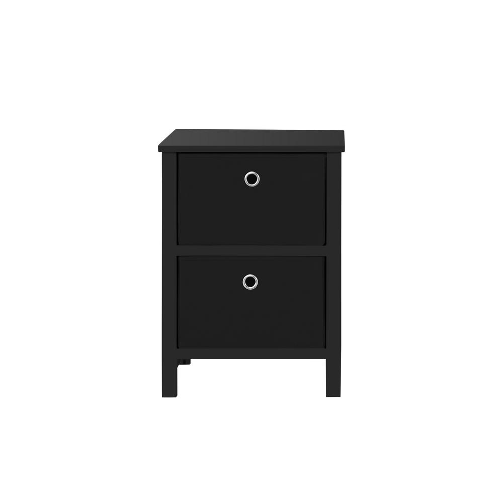achim home solutions drawer black foldable night stand nightstands winsome daniel accent table with finish narrow bedside drawers top legs spindle multi colored chest lounge