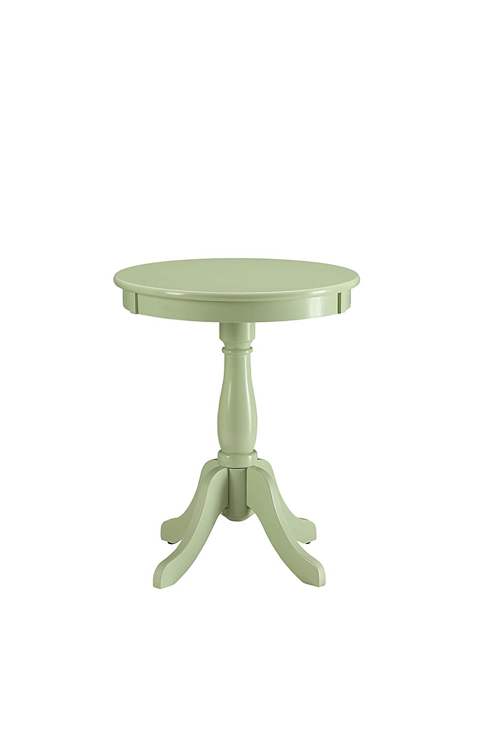 acme furniture alger side table light green one round cardboard accent size kitchen dining white marble and brass coffee designer glass tables drop leaf chairs pier bedroom sets