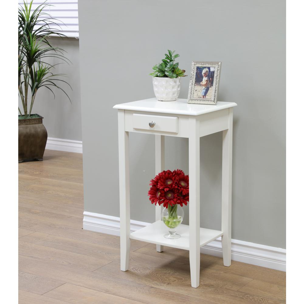 acme furniture babs white storage end table the small accent with side kilim runner ice box cooler hammered metal drum world market home decor website grey round coffee nesting